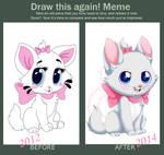 .:Draw This again meme:.Marie Cat