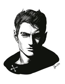 Sylas Inked Sketch