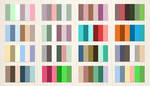 24 Complementary Color Palette