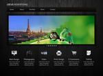 Locus One Page Psd Template