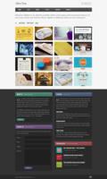 Alphine Free Homepage PSD by elemis