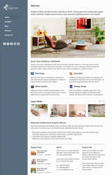 Caprice  Free HTML Template by elemis