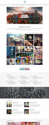 Finch Free Homepage PSD by elemis