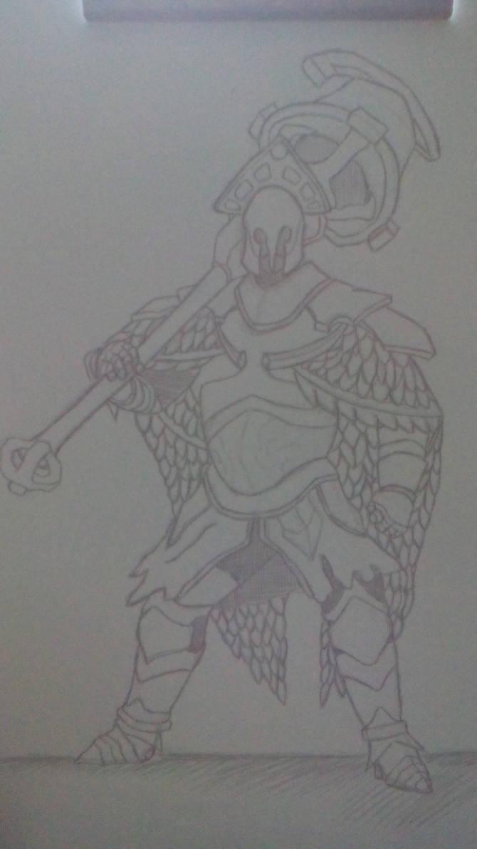 Sketch Dark Souls 2 - Velstadt