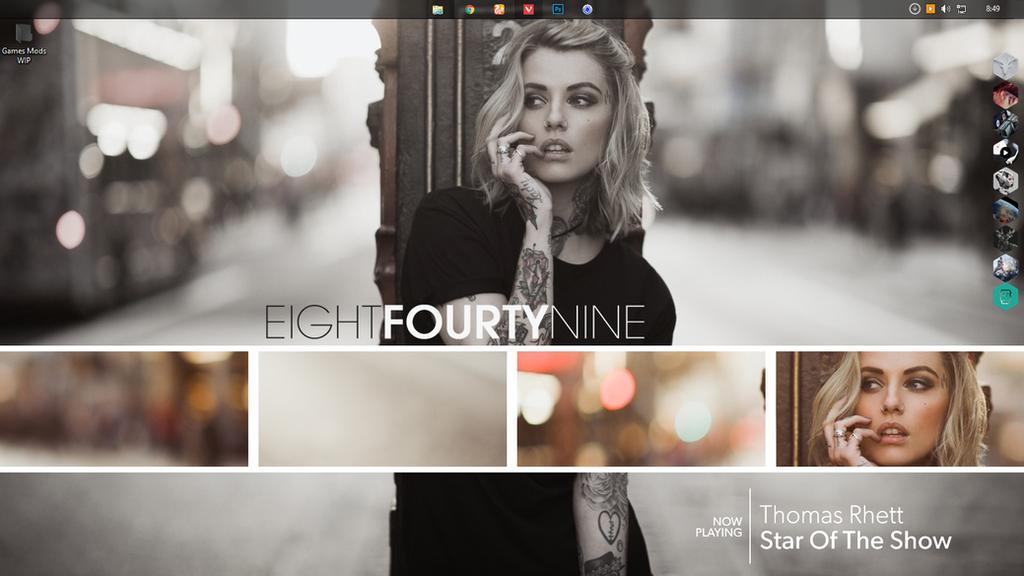 My Desktop by ZixxZack