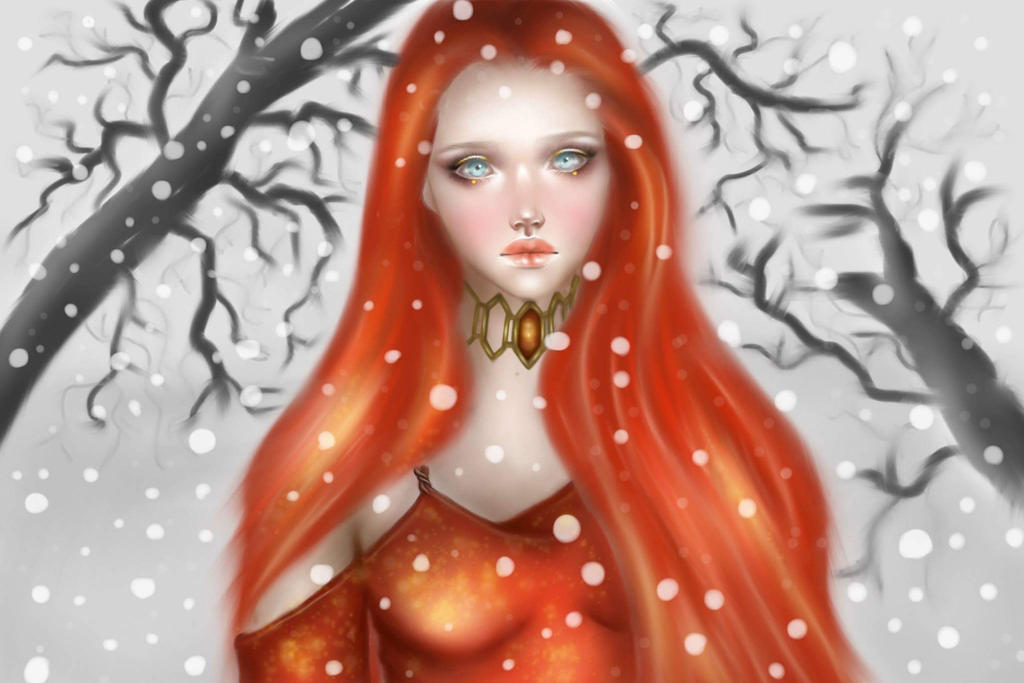 Melisandre by Peachsart