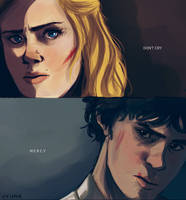 The 100 finale by vvivaa