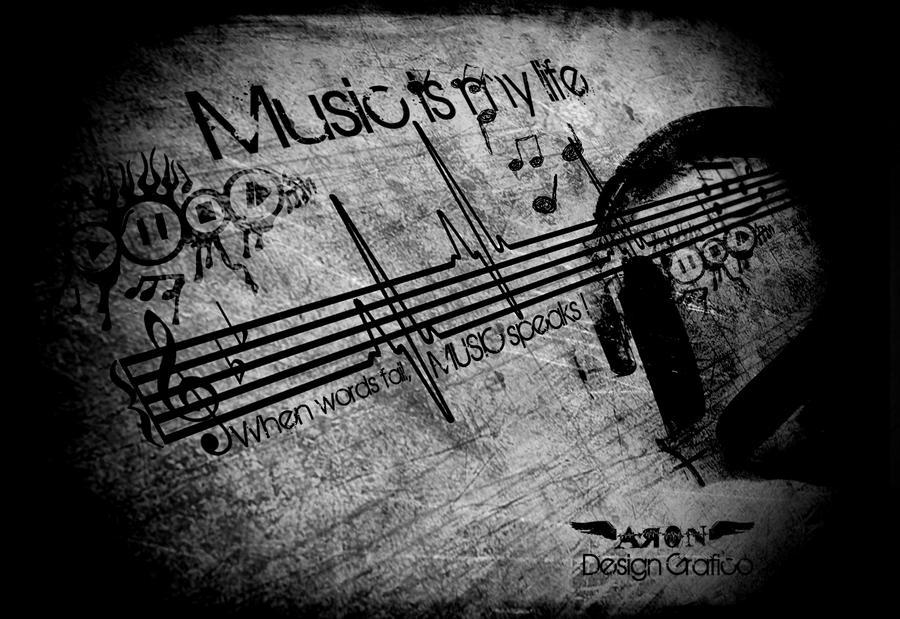 When words fail, music speaks!! by Aron-Santana