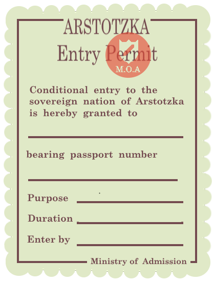 Papers, Please HD Entry Permit by taylormario20 ...