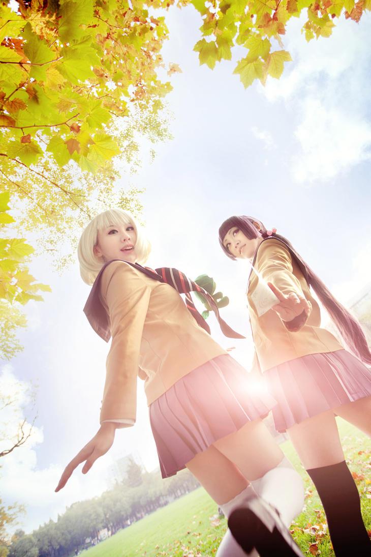 Ao no Exorcist - Izumo and Shiemi by Sakina666