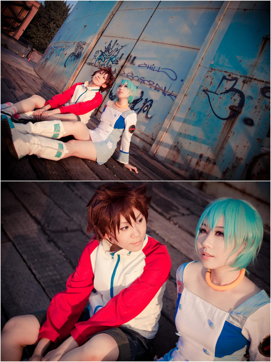 Eureka SeveN-watching you by Sakina666