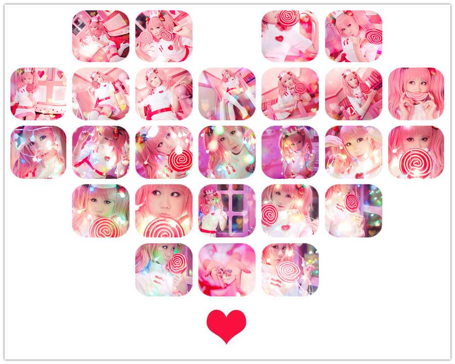 Pop'n music 8 -SweetHEART by Sakina666