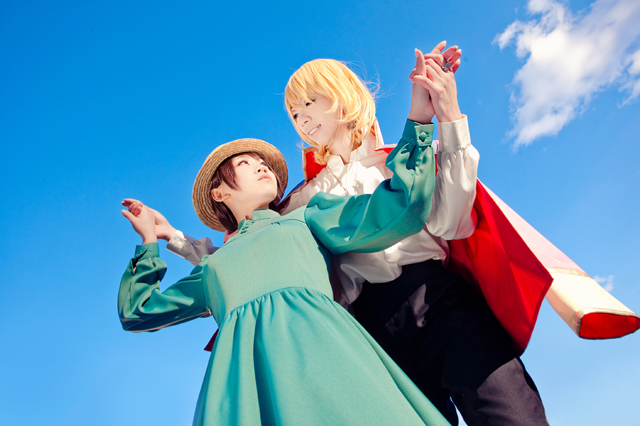 Howl's Moving Castle - Took my hand by Sakina666