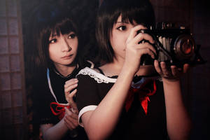 Fatal Frame 2 Crimson Butterfly-Sisters - Camera by Sakina666