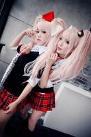 Danganronpa - Despair sisters 03 by Sakina666