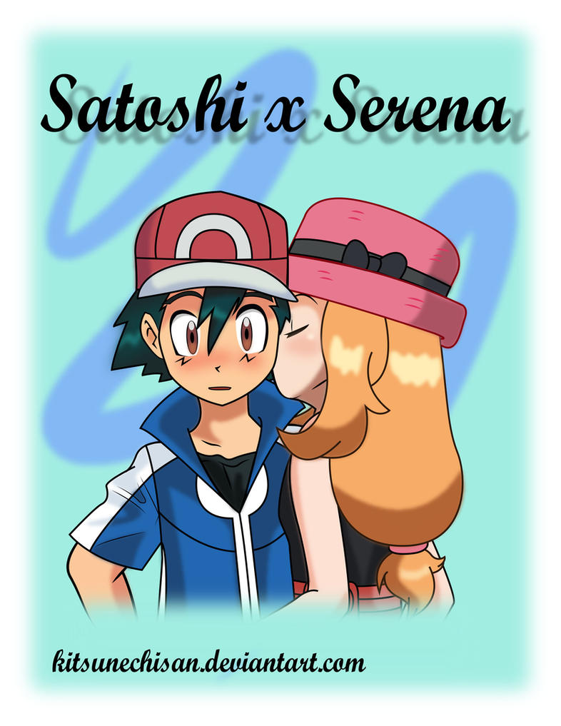pokemon x and y serena and ash kiss wwwpixsharkcom