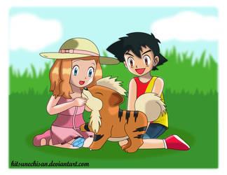 Amourshipping: Childhood Memory by KitsuneChiSan
