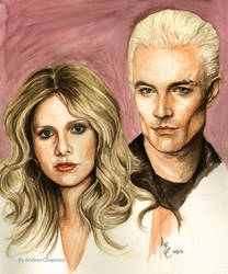 Buffy and  Spike by TheDoThatGirl