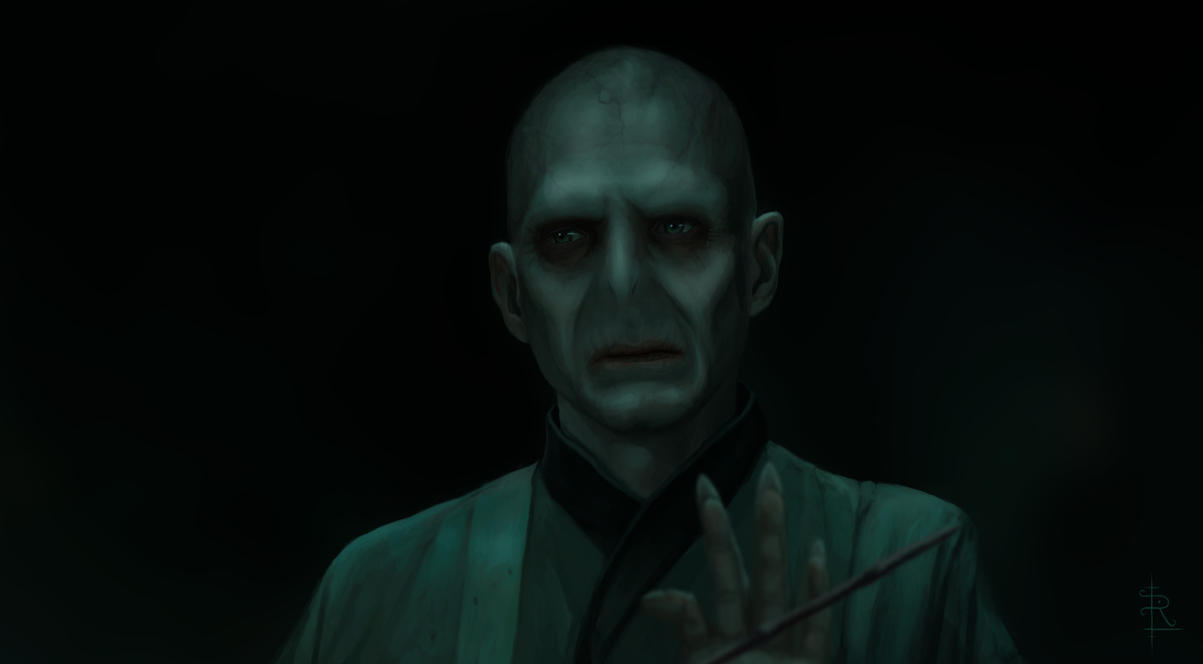 Voldemort Fan Art by rlandvatter