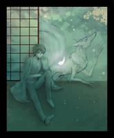 Watanuki + Mugetsu by Lizeth