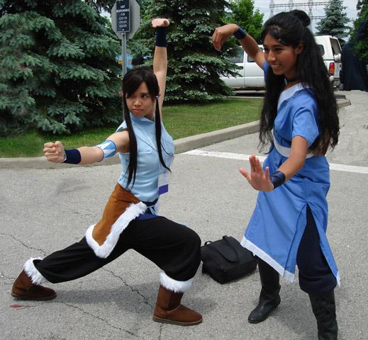 AN2012 Korra / Katara cosplay by Lizeth
