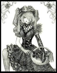 Gothic Flowergirl by Lizeth