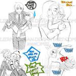 Yaoi doodles :3