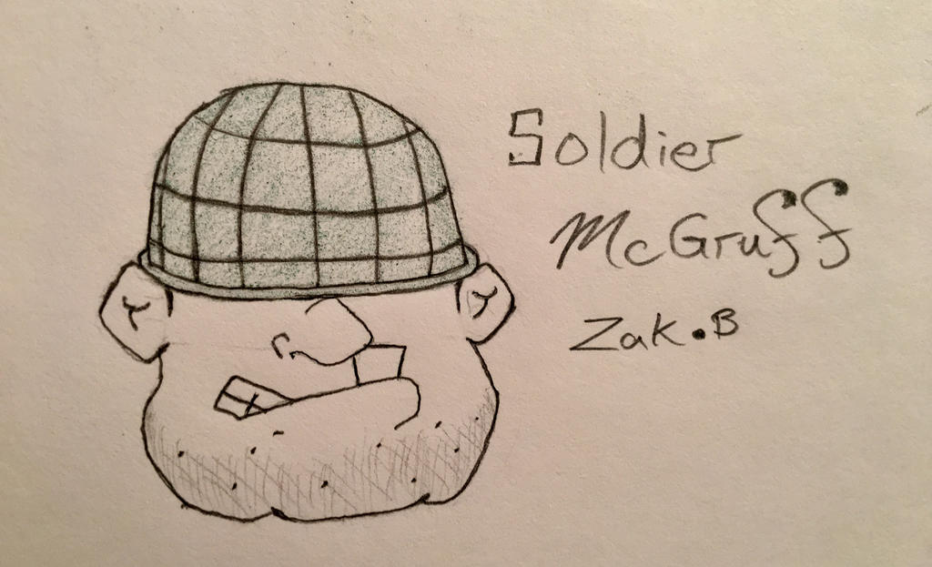 Soldier McGruff by AmoebaGagless