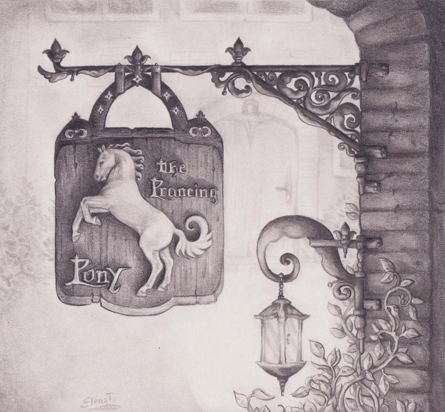 Özel Sektör Alımları The_prancing_pony____by_eleestel-d4s78jf