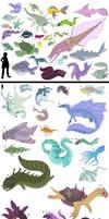 Fronterra Creature Guide: Marine Fauna