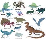Fronterra creature guide - domestic beasts