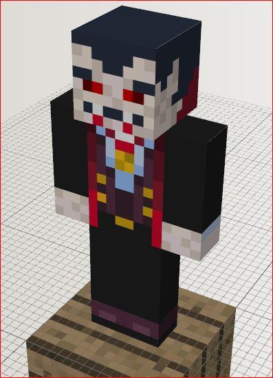 minecraft vampire skin
