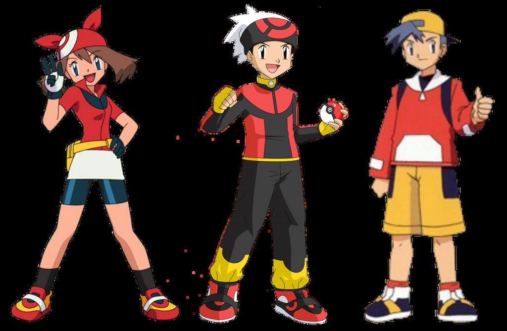 Pokemon Go!: Pokemon Trainer Group TF/TG/AR/MC by dylan613 on DeviantArt