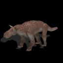 All Yesterdays Gorgonopsid (lynx/bobcat-colored)