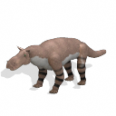 All Yesterdays Gorgonopsid (wildcat-colored)