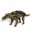 All Yesterdays Gorgonopsid (painted dog-colored)