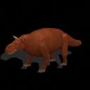 All Yesterdays Gorgonopsid (brown bear-looking)