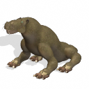 Future Sea Lion-Like Gorgonopsid
