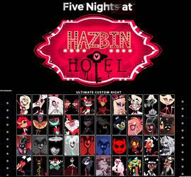 Five Nights At Hazbin Hotel (Cast)