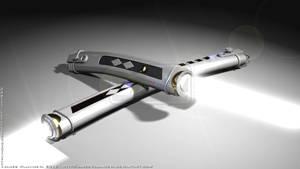 Ahsoka Tano's Lightsabers - Star Wars Rebels by JamesVillanueva