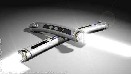 Ahsoka Tano's Lightsabers - Star Wars Rebels by JamesVillanueva