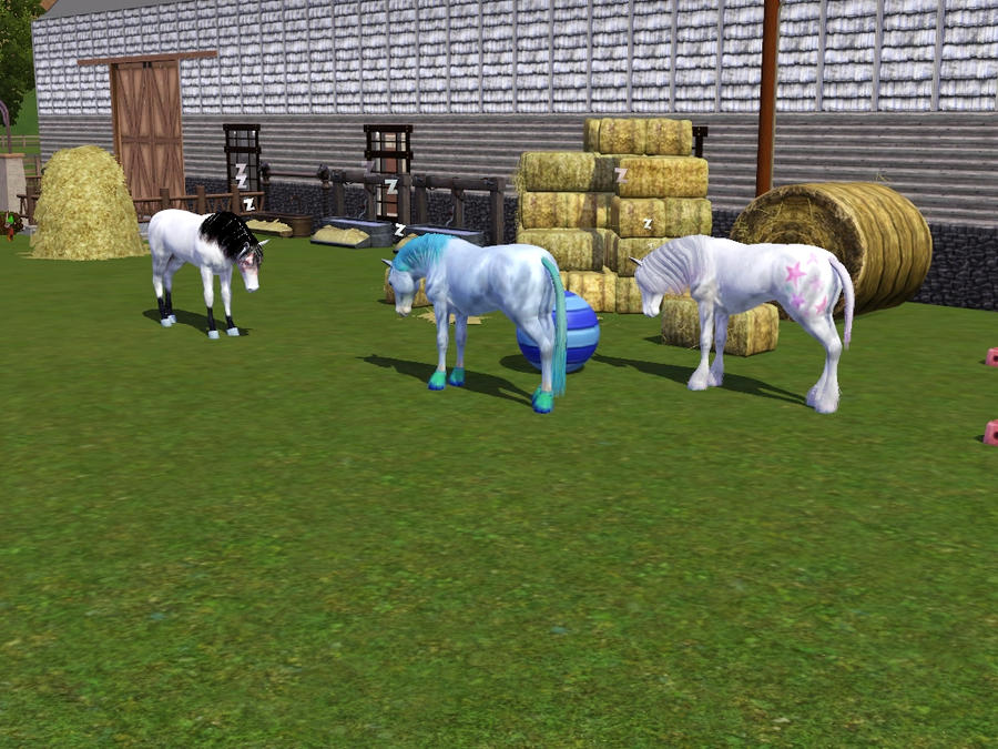 Sims  Pets Employees Keep Taking Food Bowl