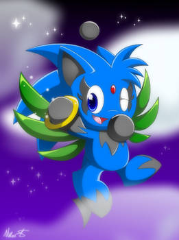 Zipo the Chao for Zipo-Chan.