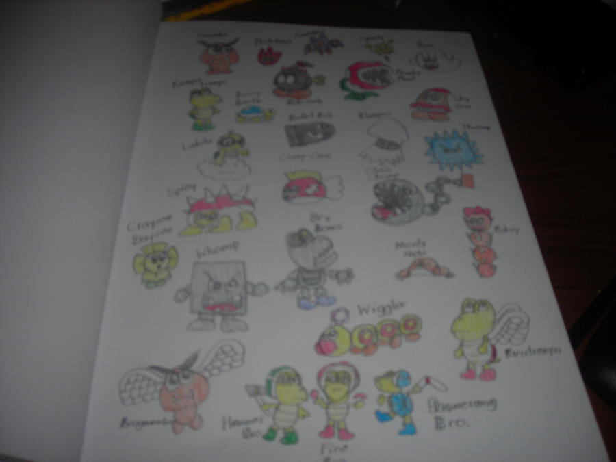 Limpurtikles Mario Colored: Mario Baddies Colored By Waddle-Dance On DeviantArt