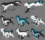 Zangetsu + Nell's pups