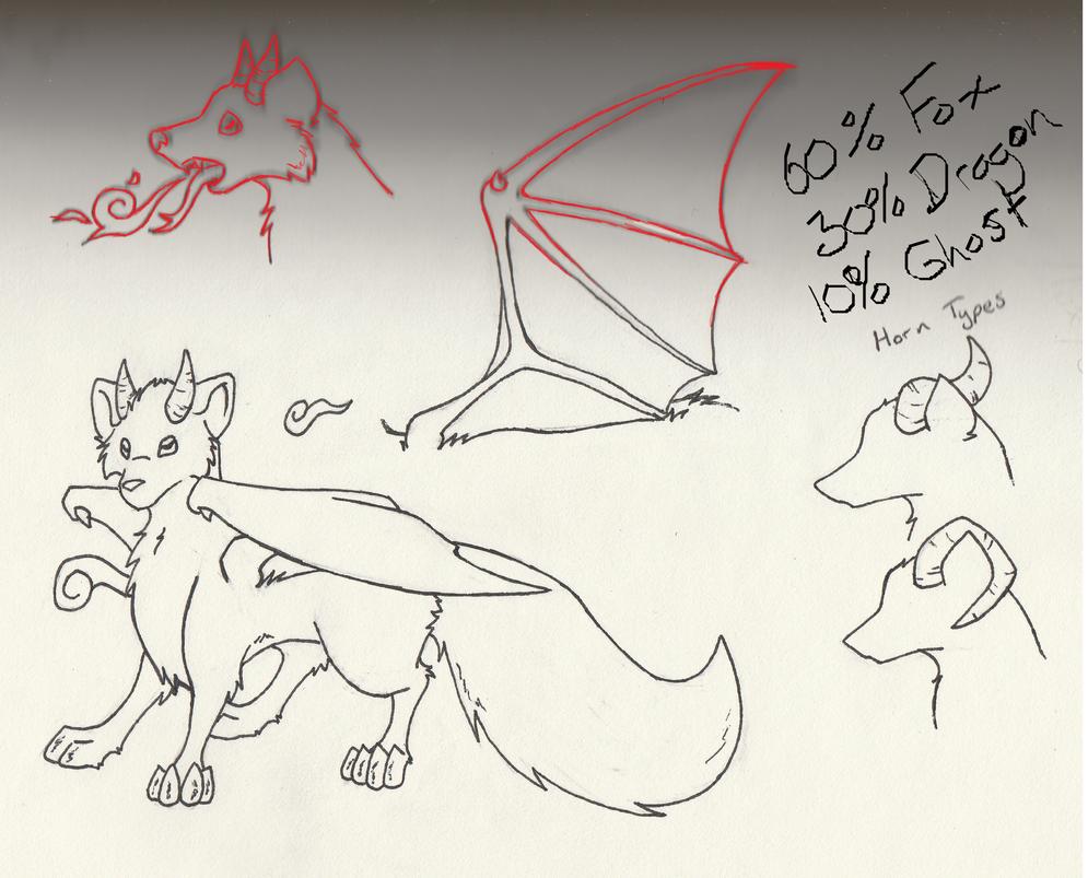 Species Design KitsuneHebi's only by NightShrowd7-17