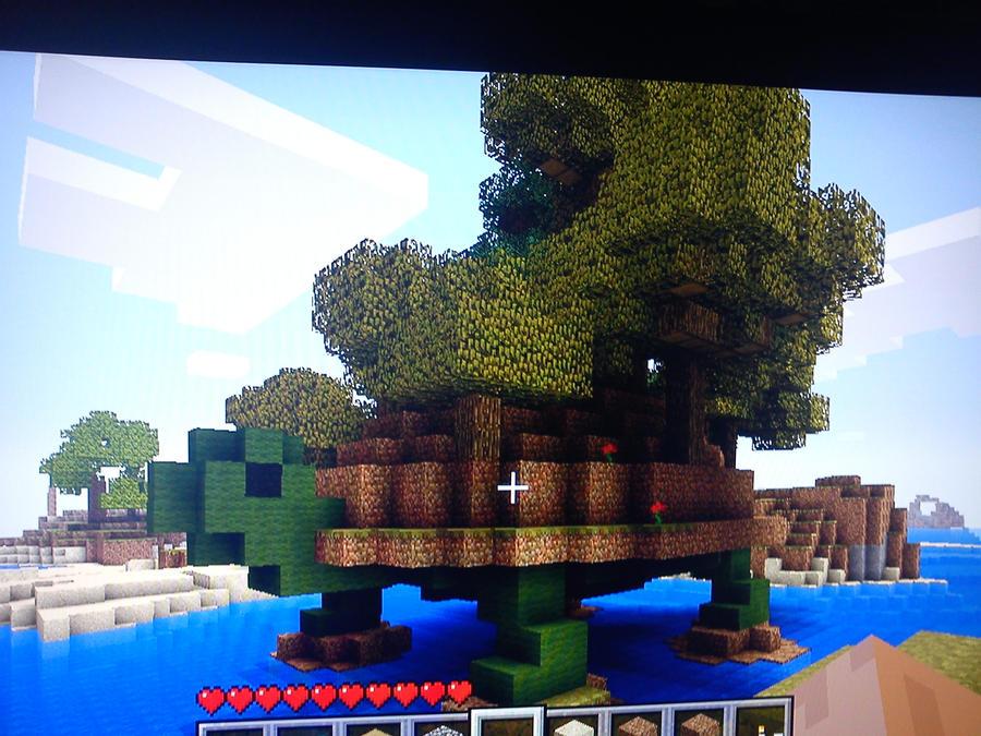 Minecraft Turtle House By Wolfdeano On Deviantart
