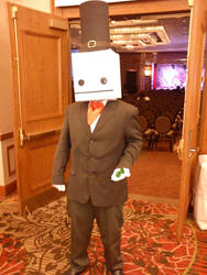 My Hatty Hattington cosplay at Afest Dallas 2013