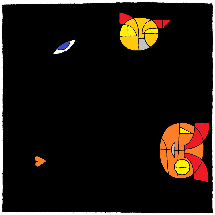 eye heart catz by WolfDeano