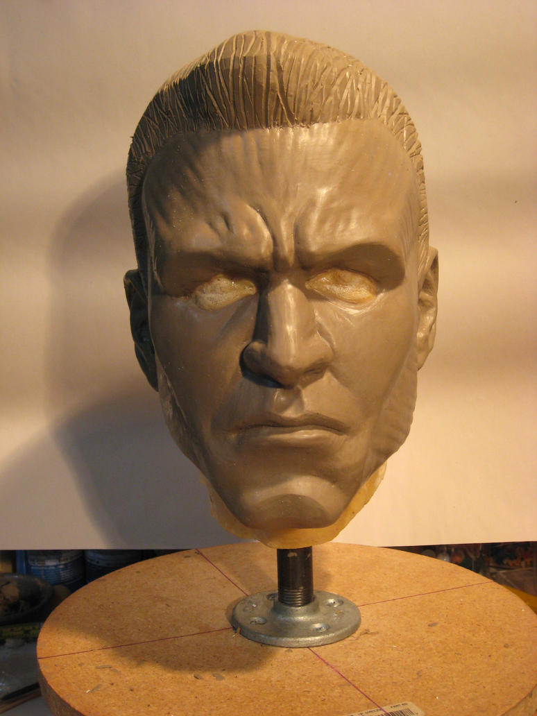 Colossus Silicone mask WIP 2 by st8exprs
